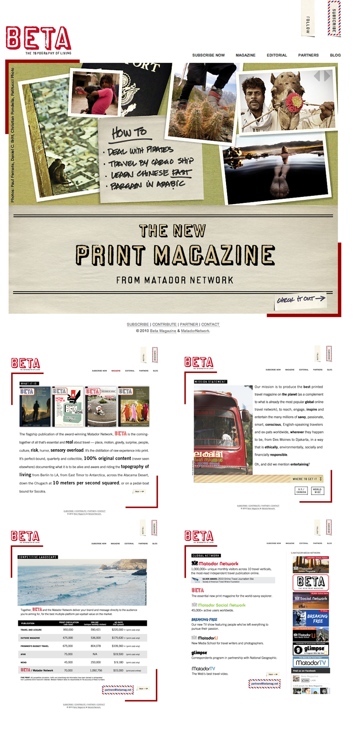 BETA Magazine + Site