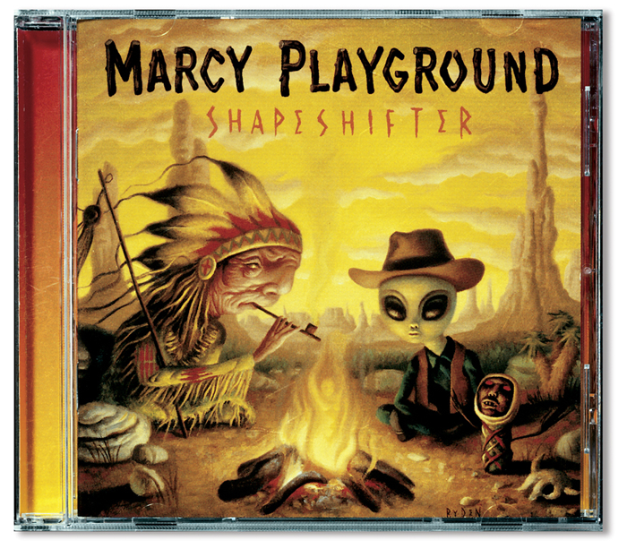 Marcy Playground CD Package