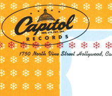 Capitol Records Holiday Card