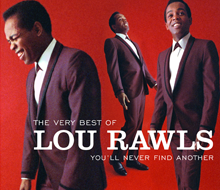 Lou Rawls CD package